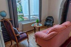 Petit salon  à l'étage, espace détente