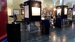Visitors at the Salvador Dali exhibition