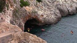 un tuffo nel mare turchese