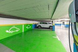 Parking Carga eléctrica Hotel Princesa y Diana Parc Arinsal