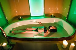 The modern Spa center at Katarino offers a lot of exclusive therapies - Flotation bath
