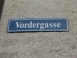 name of the main street