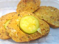Rosticceria Anna : polpettone di carne mista con ripieno di zucchina