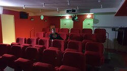 The hotel theatre for which you can reserve a time slot to watch a private movie