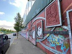Peace Wall, Belfast.