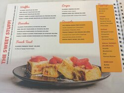 Waffles, Pancakes, French Toast, Crepes and Desserts Menu! 🥞 🍞 🍓🍌🥥🍇🥝🍫 🍪🍨
