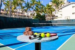 Tennis Court at Villa del Palmar Beach Resort & Spa Puerto Vallarta