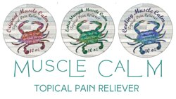 Muscle Calm is a powerful topical pain reliever, packed with natural ingredients to combat inflammation and reduce pain. Available in Original, Extra Strength & Cooling Blends (Travel Size, 4oz & 10oz Sizes)