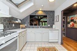 The Hayloft's private kitchen