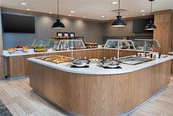 Enjoy our Complimentary Breakfast Buffet