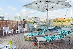 Herods Herzliya Executive Suite Marina View Balcony