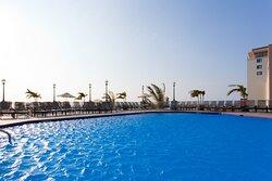 Enjoy two outdoor pools overlooking the Atlantic Ocean.