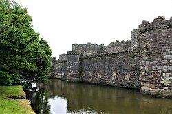 2.  Beaumaris Castle, Beaumaris, Anglesey, North Wales