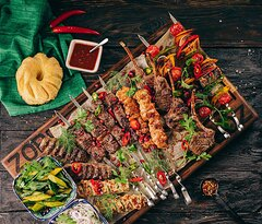 ZOR Mixed Grill Platter for 4 People