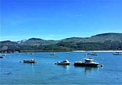 2.  Mawddach Estuary, Barmouth, Gwynedd, North Wales
