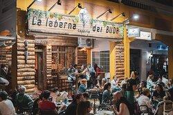 La Taberna del Buda, ubicado en la Avenida Castilla en La Antilla. La mejor cocina Mediterránea y asiática.