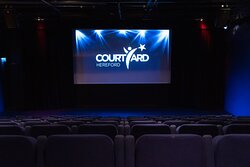 The Courtyard's Studio and Cinema space