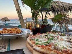 AMATRICHIANA (spaghetti) and CLASSICA (pizza)