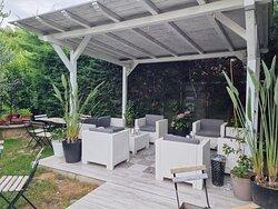 Il nostro ampio giardino esterno