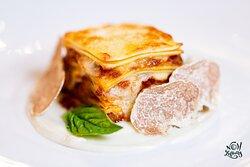 Lasagne: Veal   Pork   Rosemary   Béchamel