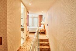 Suite Treppe zum Schlafbereich