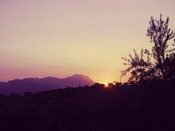 Sunset in Abruzzo