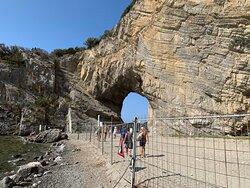 Arco naturale di Palinuro per chi l'ha visto come me 30 anni fa uno scempio...