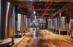 Distillery Production Floor - the first whiskey distillery in Manhattan since prohibition!