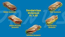 Ein feines Sandwich für zwischendurch