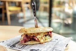 Dachgarten Sandwich