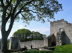 Pickering Castle entrance