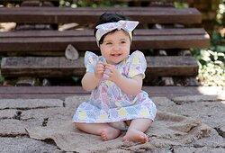Vestido Bebê Melancia