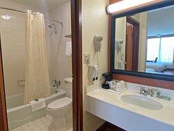 Double Guest Room Bathroom