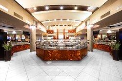 The interior of Fresh Buffet.