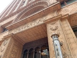 Louis Sullivan's Guaranty Buildling: one of many ornate and lovely beaux-arts structures still standing in Buffalo.