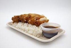 Chicken katsu tray