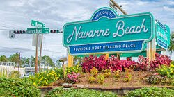 Peaceful and not commercial you will relax and enjoy the unspoiled Navarre Beach.