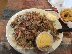 Chopped BBQ salad - awesome