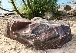 Granite erratic