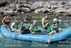 Fun rafting adventure