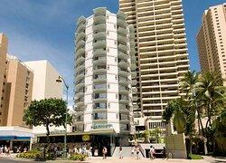 Aston Waikiki Circle Hotel - Exterior
