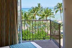 Aston Waikiki Circle Hotel - Oceanfront View