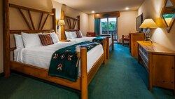 2 Queen bed Guest Room with balcony