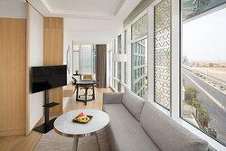 Junior Suite - Living room 1