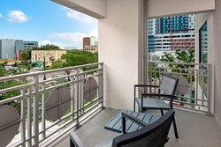King Suite - Balcony