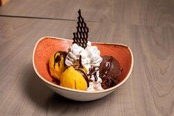 Coupe Mango-Cioccolato