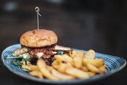 Seabass Burger
