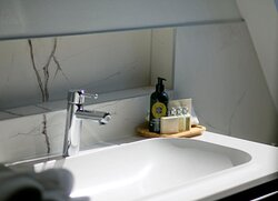 Our bathrooms are equipped with L'Occitane products
