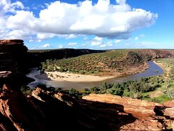 The bend of the Murchison River