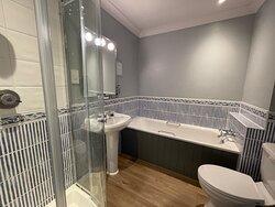 Our Classic Room bathroom